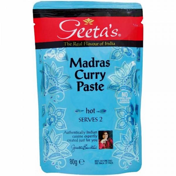 Geeta´s Madras Curry Paste hot