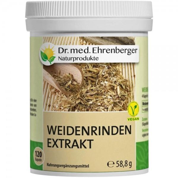 Dr. Ehrenberger Weidenrinden Extrakt Kapseln