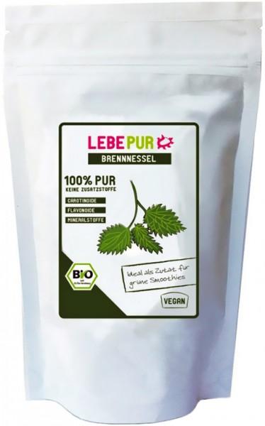 LebePur Bio Smoothie Pulver Brennessel