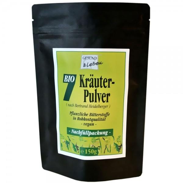 Gesund & Leben Bio 7 Kräuter Pulver