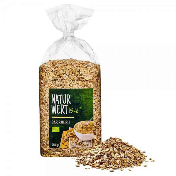 NaturWert Bio Basis-Müsli