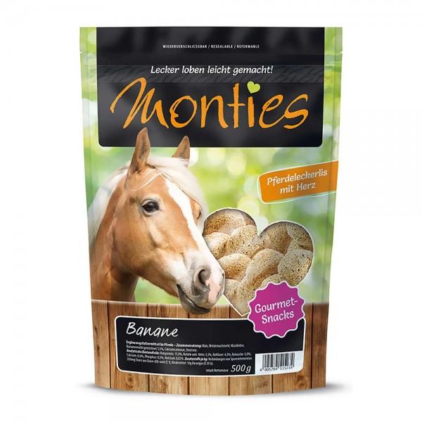 Monties Pferde-Snack Banane