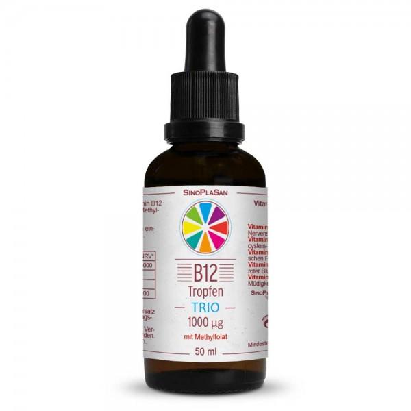 SinoPlaSan Vitamin B12 TRIO Tropfen