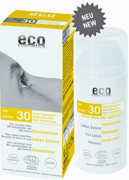 eco cosmetics Sonnenlotion LSF30