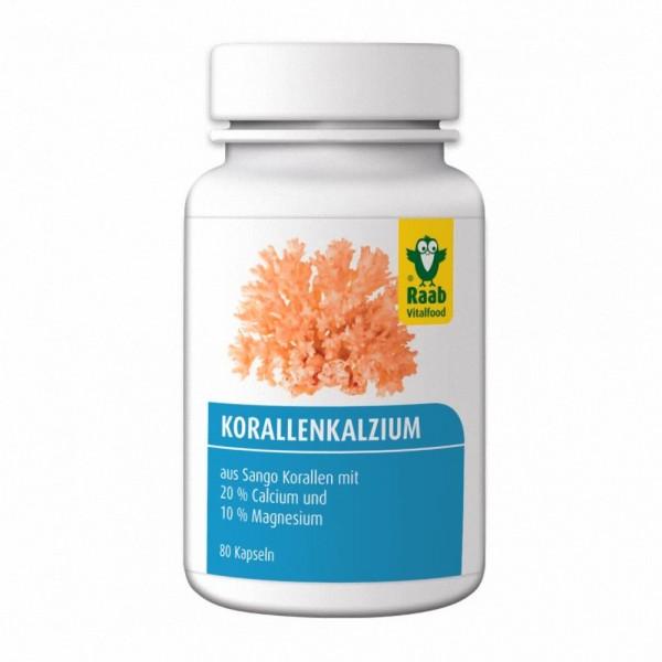 Raab Korallen Calcium Kapseln