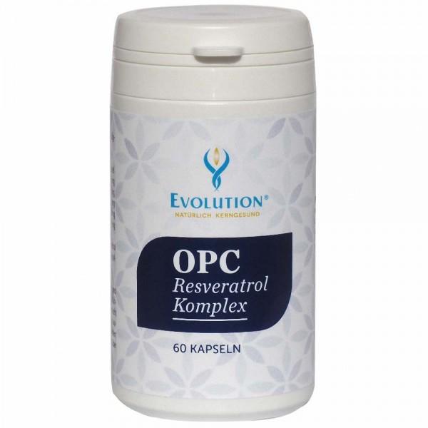 Evolution OPC Resveratrol Komplex Kapseln