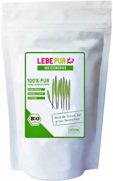 LebePur Bio Smoothie Pulver Weizengras