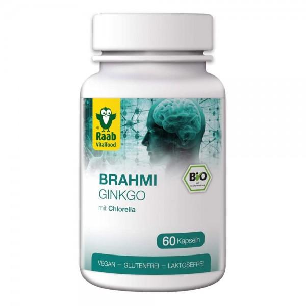 Raab Bio Brahmi Ginkgo mit Chlorella Kapseln