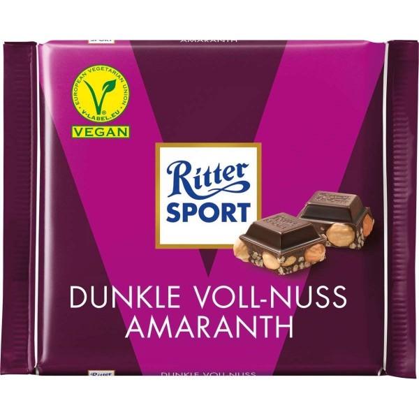 Ritter Sport Dunkle Voll-Nuss Amaranth Schokolade