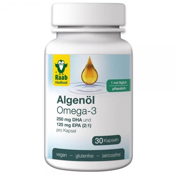 Raab Algenöl Omega-3 Kapseln