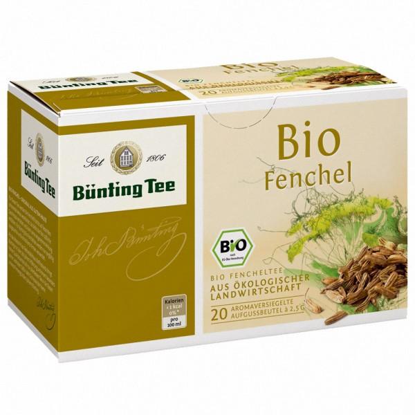 Bünting Bio Fenchel Tee Beutel (2,5g)