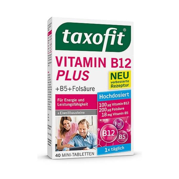 Taxofit Vitamin B12 Plus Tabs